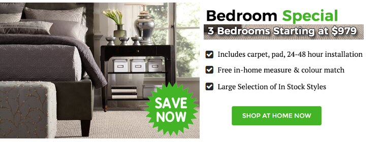 Bedroom Flooring Special