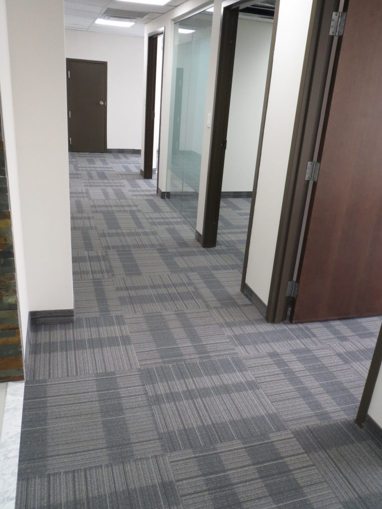 Commercial Carpet Tiles Toronto Law Office 2