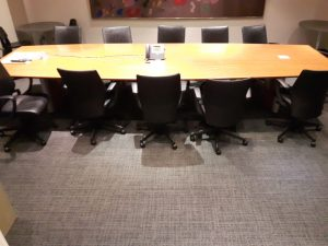 Commercial Flooring for Executive Boardroom in Toronto